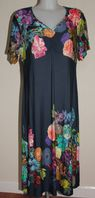 Vamp Beach / Day Dress In Blue Marine
